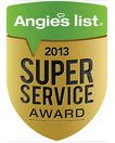 Angies list. 2013 Super Service Award